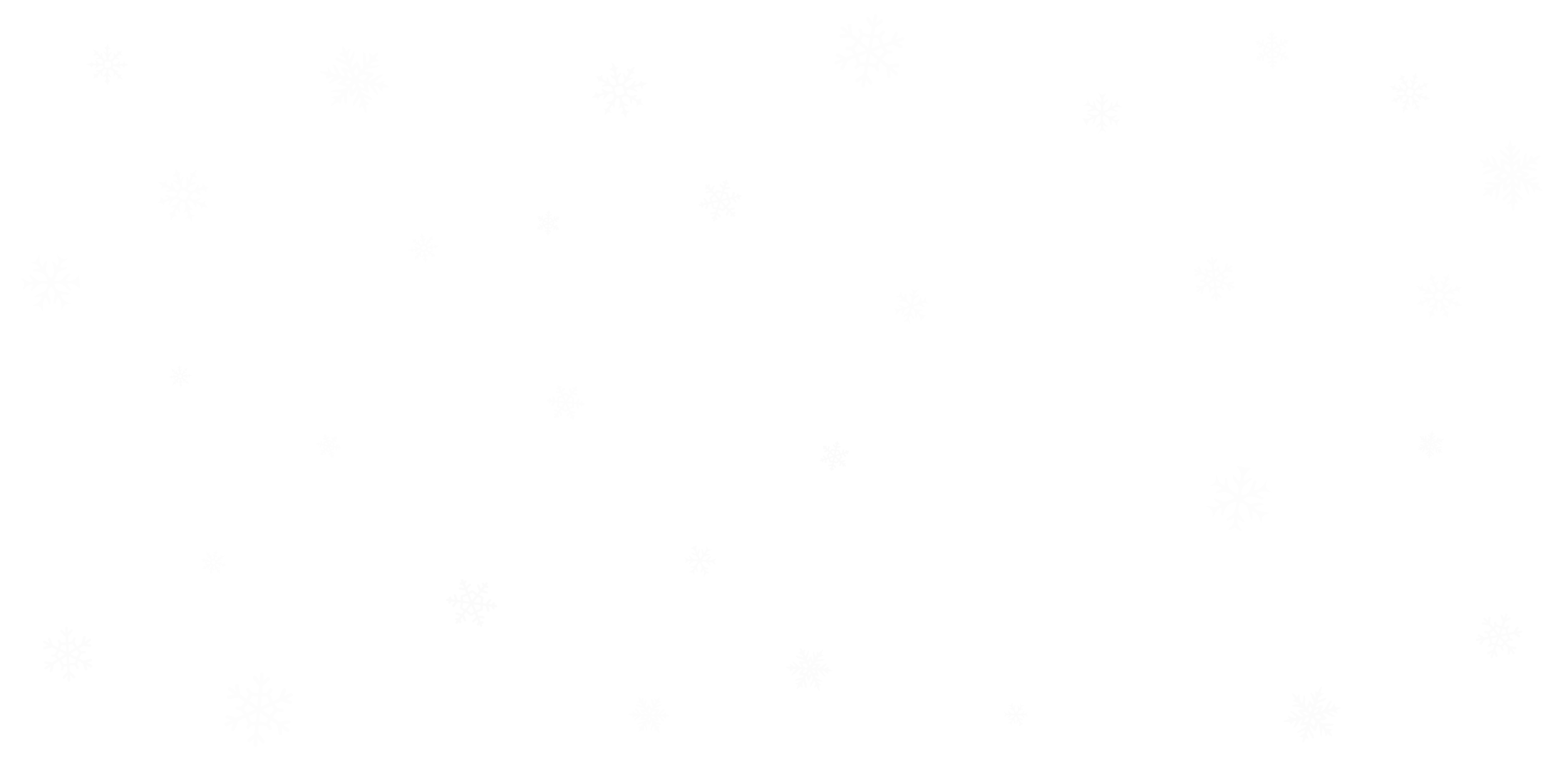 Winter Sales snowflakes