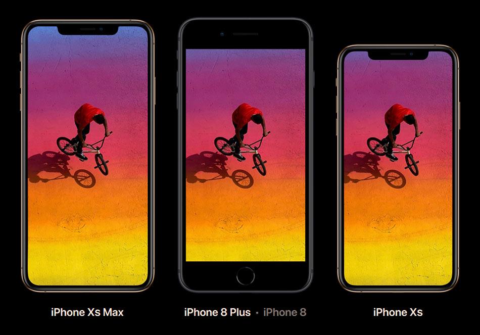iPhone Xs πλήρης οθόνη 1b