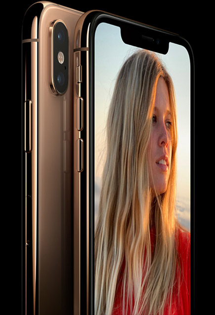 iPhone Xs vertical sides 1f