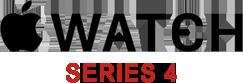 Apple watch series 4 logo