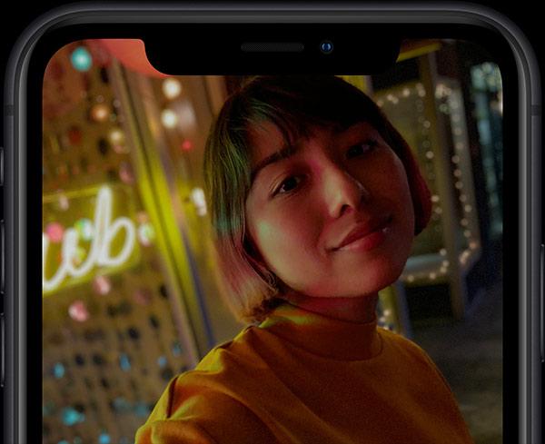 iPhone XR TrueDepth Camera 1c