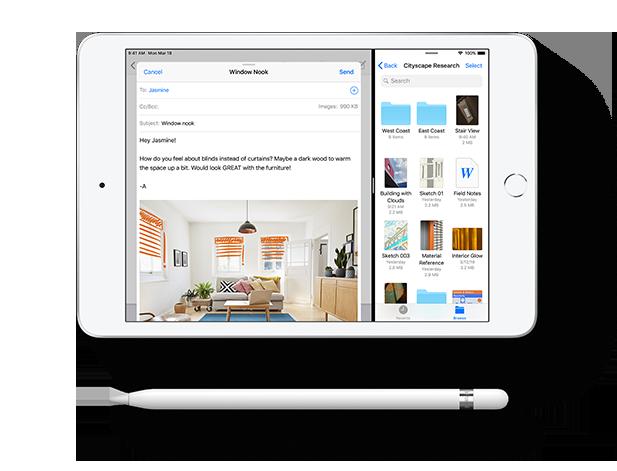 iPad Mini Συμπαγής και φορητός σχεδιασμός 1d