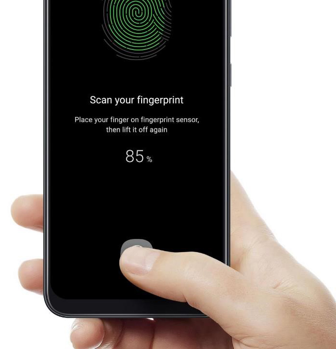 Samsung A50 Fingerprint f