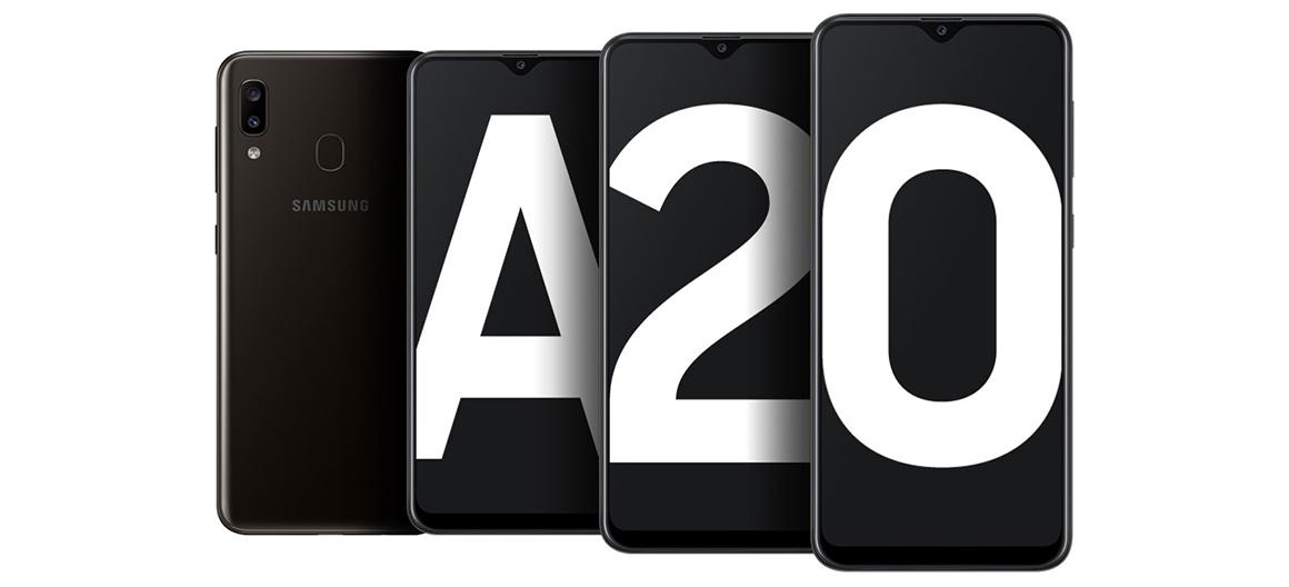 Samsung A20 intro aa