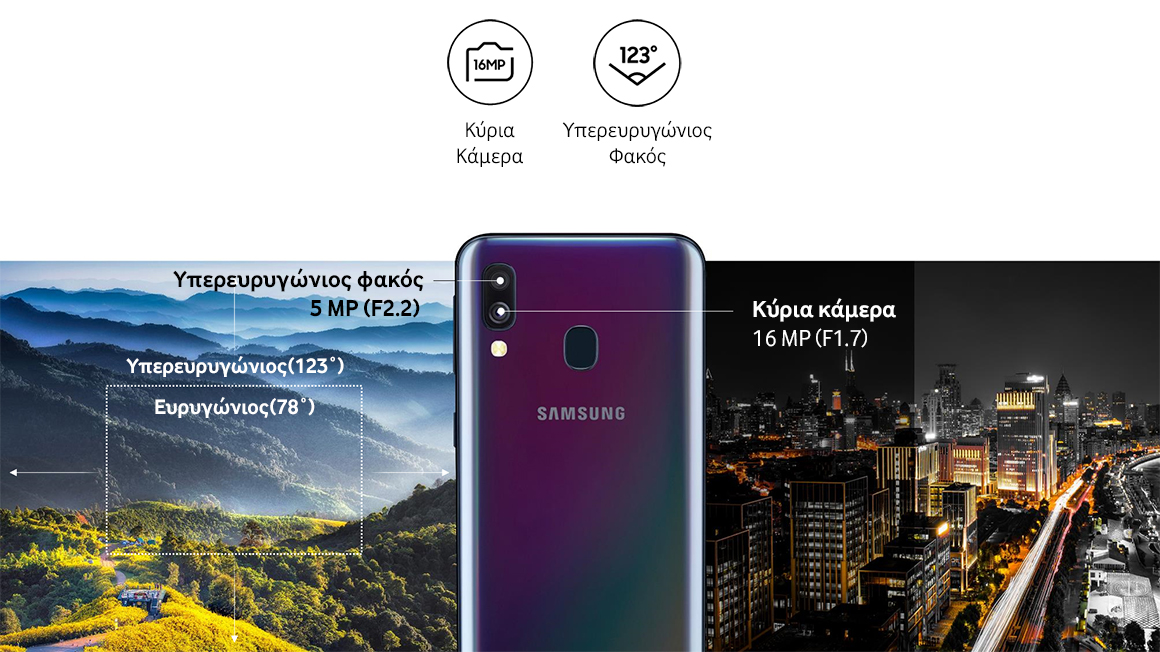 Samsung A20 Φωτογραφίαe ytr
