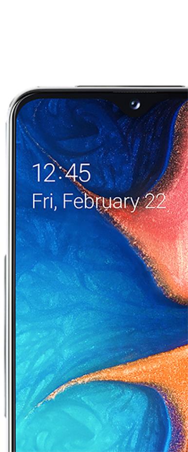 Samsung A20 Infinity Display ab