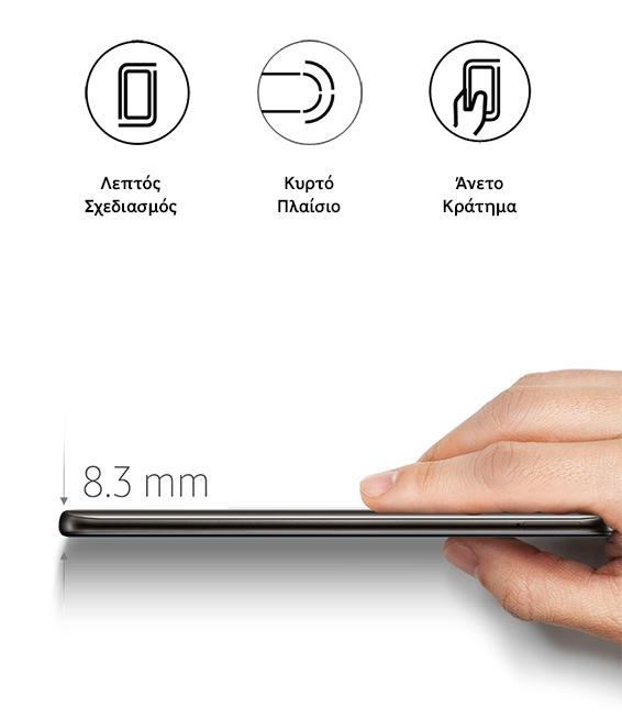 Samsung A20 Σχεδιασμός eear