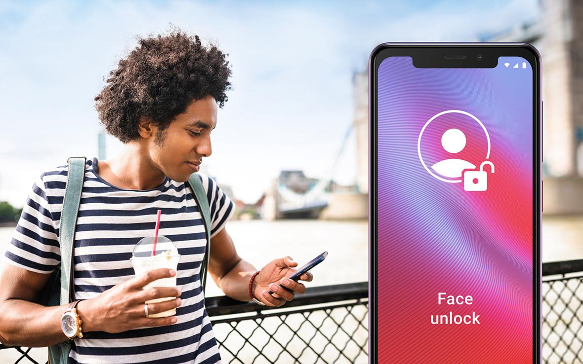 Vodafone Smart N10 Face Unlock