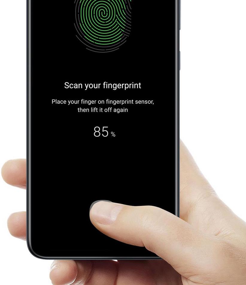 Samsung A80 Fingerprint a