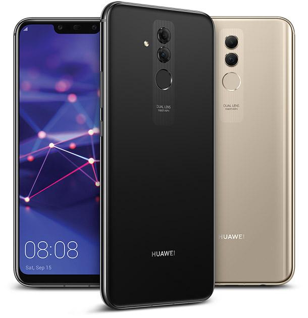 Huawei Mate20 lite black gold