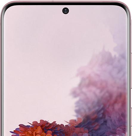 Samsung Galaxy S20 οθόνη