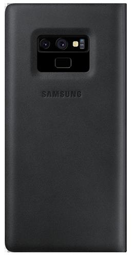 ΘΗΚΗ/Samsung/Leather View/Note 9/ΜΑΥΡΟ