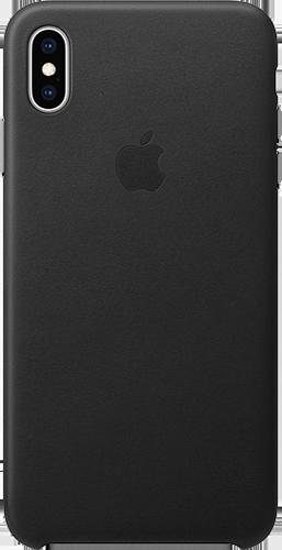 ΘΗΚΗ/Apple/iPhone XS/Leather/ΜΑΥΡΟ