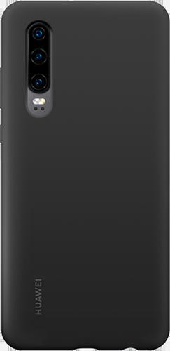 ΘΗΚΗ/Huawei/Silicone/P30/ΜΑΥΡΟ
