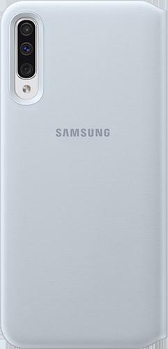 ΘΗΚΗ/Samsung/Flip wallet/A50/ΛΕΥΚΟ