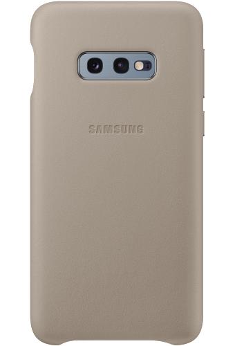 ΘΗΚΗ/Samsung/Leather view/S10e/ΓΚΡΙ