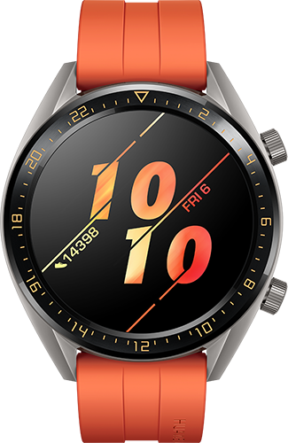 Smartwatch/Huawei/GT/Active/ΠΟΡΤΟΚΑΛΙ
