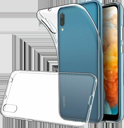 ΘΗΚΗ/Huawei/Silicone/Y6 2019/ΔΙΑΦΑΝΟ
