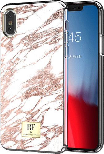 ΘΗΚΗ/R&F/iPhone X_Xs/Rose Gold Marble