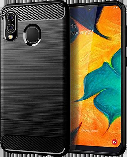 ΘΗΚΗ/vivid/carbon/Samsung A20e/ΜΑΥΡΟ