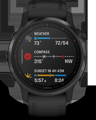 Smartwatch/Garmin/Fenix 6S PRO/Black_bl