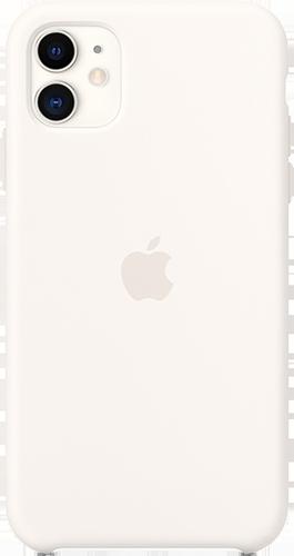 ΘΗΚΗ/Apple/iPhone 11/Silic/ΛΕΥΚΟ