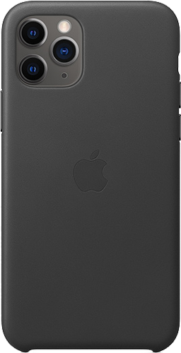 ΘΗΚΗ/Apple/iPhone 11 Pro/Leather/ΜΑΥΡΟ