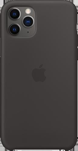 ΘΗΚΗ/Apple/iPhone 11 Pro/Silic/ΜΑΥΡΟ