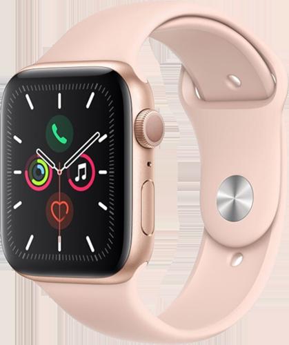 Apple Watch 5/Alu44mm/Gold/P.sand Sport
