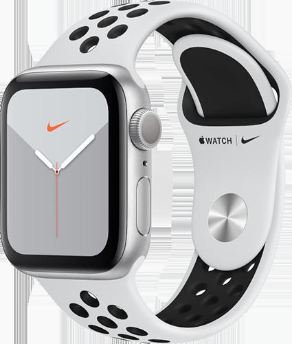 Apple Watch 5/Alu44mm/Nike/White