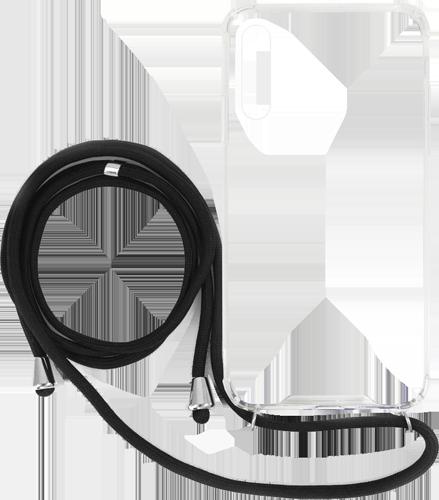 ΘΗΚΗ/vivid/necklace/Galaxy A50/ΜΑΥΡΟ