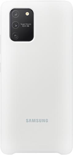 ΘΗΚΗ/Samsung/Silicone/S10 lite/ΛΕΥΚΟ