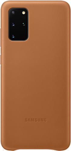 ΘΗΚΗ/Samsung/Leather/S20+/ΚΑΦΕ
