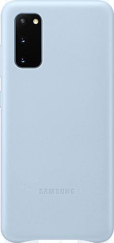ΘΗΚΗ/Samsung/Leather/S20/ΜΠΛΕ