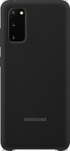 ΘΗΚΗ/Samsung/Silicone/S20/ΜΑΥΡΟ