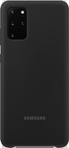 ΘΗΚΗ/Samsung/Silicone/S20+/ΜΑΥΡΟ