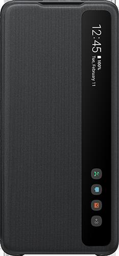 ΘΗΚΗ/Samsung/Clear view/S20 ultra/ΜΑΥΡΟ