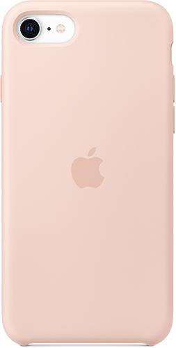 ΘΗΚΗ/iPhone SE new/Silicone/ΡΟΖ
