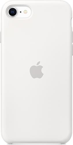 ΘΗΚΗ/iPhone SE new/Silicone/ΛΕΥΚΟ