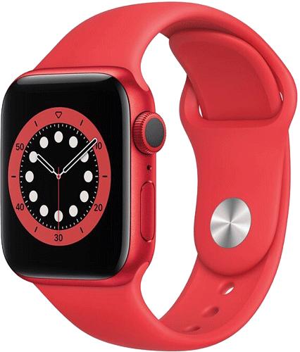 Apple Watch 6/Alu40mm/Red/Red Sport