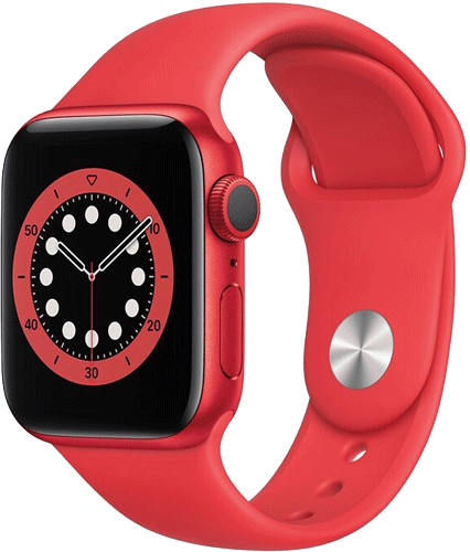 Apple Watch 6/Alu44mm/Red/Red Sport