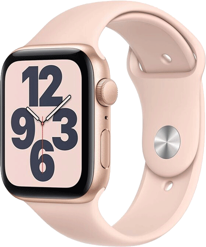Apple WatchSE/Alu40mm/Gold/P.sand Sport