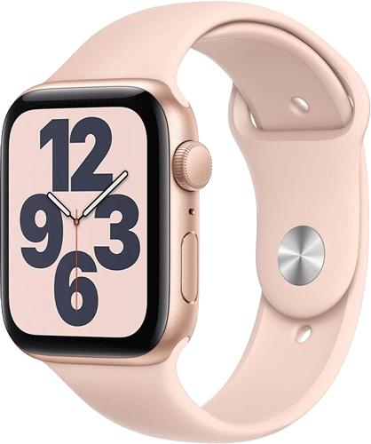 Apple WatchSE/Alu44mm/Gold/P.sand Sport