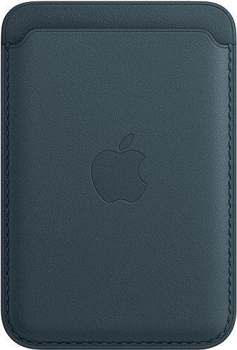 ΘΗΚΗ/Apple/Leather wallet/ΜΠΛΕ
