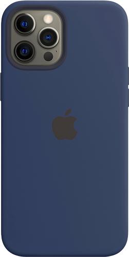 ΘΗΚΗ/iPhone12promax/Silicone/ΣΚ ΜΠΛΕ