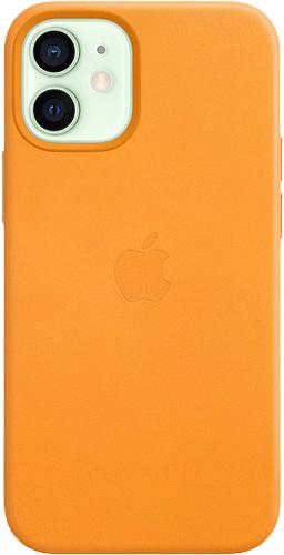 ΘΗΚΗ/iPhone 12 mini/Leather/ΚΑΦΕ ΑΝ