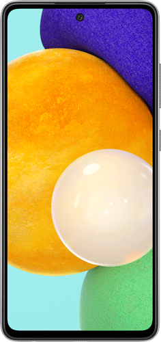 ΚΙΝ.ΤΗΛ.SAM GLX Α52/256GB/4G/DS/ΜΑΥΡΟ/V