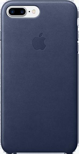 Apple Θήκη Δερμάτινη για iPhone 7 Plus Σκούρο Μπλε
